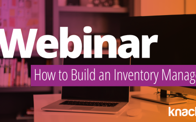 Webinar | Inventory Management with Knack